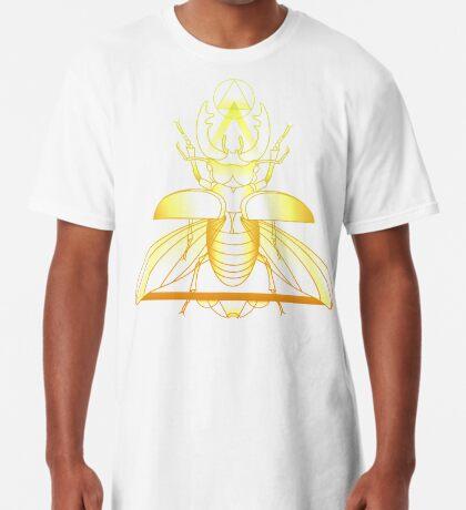 Stag Beetle (Golden) Long T-Shirt