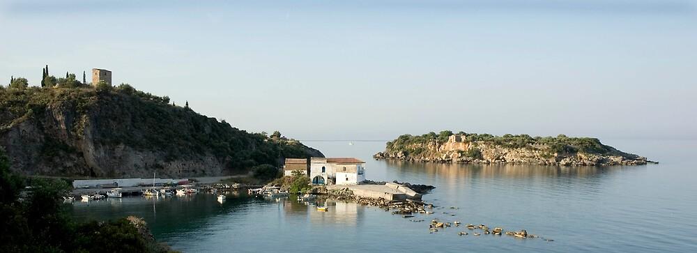 Kardamyli harbour, Mani, Greece by duncananderson