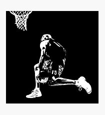 VC - Vince Carter - Silhouette - Vinsanity  Photographic Print