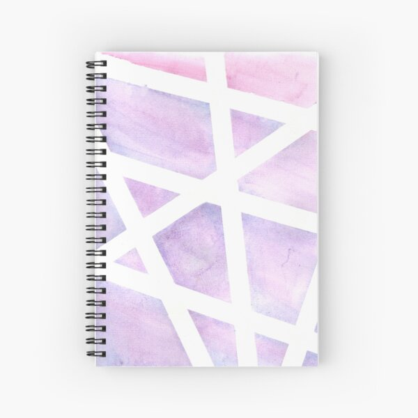 Abstract Art  Watercolor  Spiral Notebook