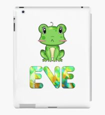 Frosch Eve iPad-Hülle & Klebefolie