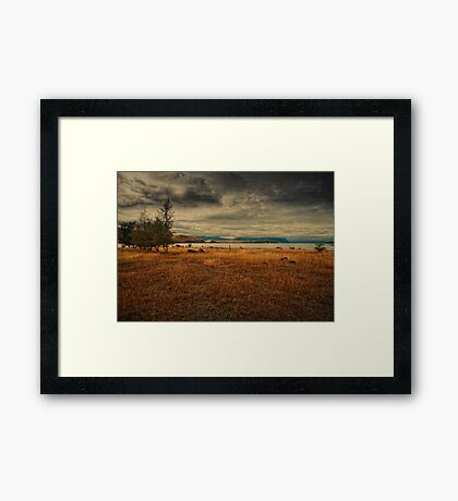 When the past calls, let it go to voicemail, it has nothing new to say Framed Print
