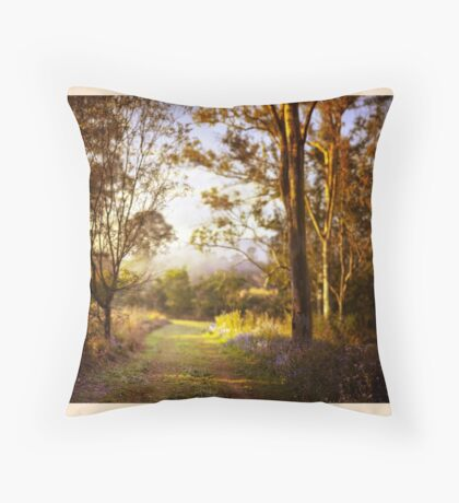 Morning is wonderful. Its only drawback is that it comes at such an inconvenient time of day. Throw Pillow