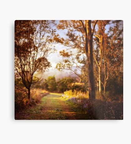 Morning is wonderful. Its only drawback is that it comes at such an inconvenient time of day. Metal Print