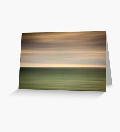 Angry sky and dark and moody waters.... Greeting Card