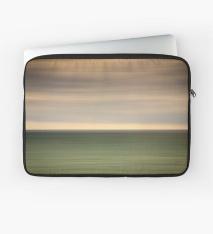 Angry sky and dark and moody waters.... Laptop Sleeve