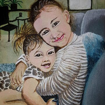GRANDDAUGHTERS ADDY AND AUDREY by Tammera