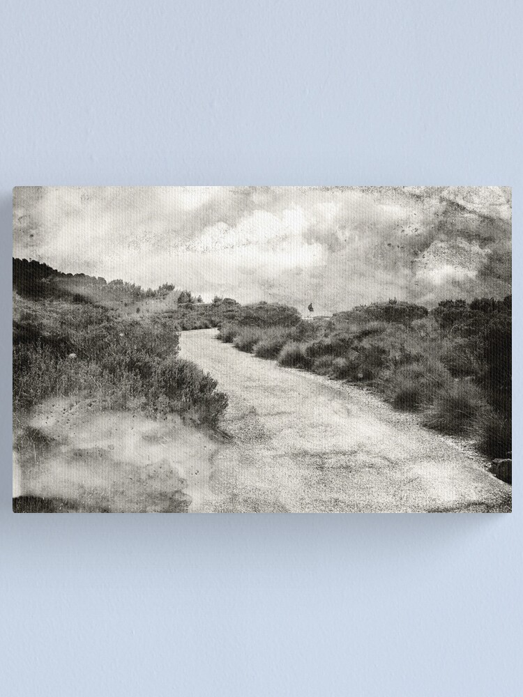 Alternate view of Even if you're on the right track, you'll get run over if you just sit there.... Canvas Print