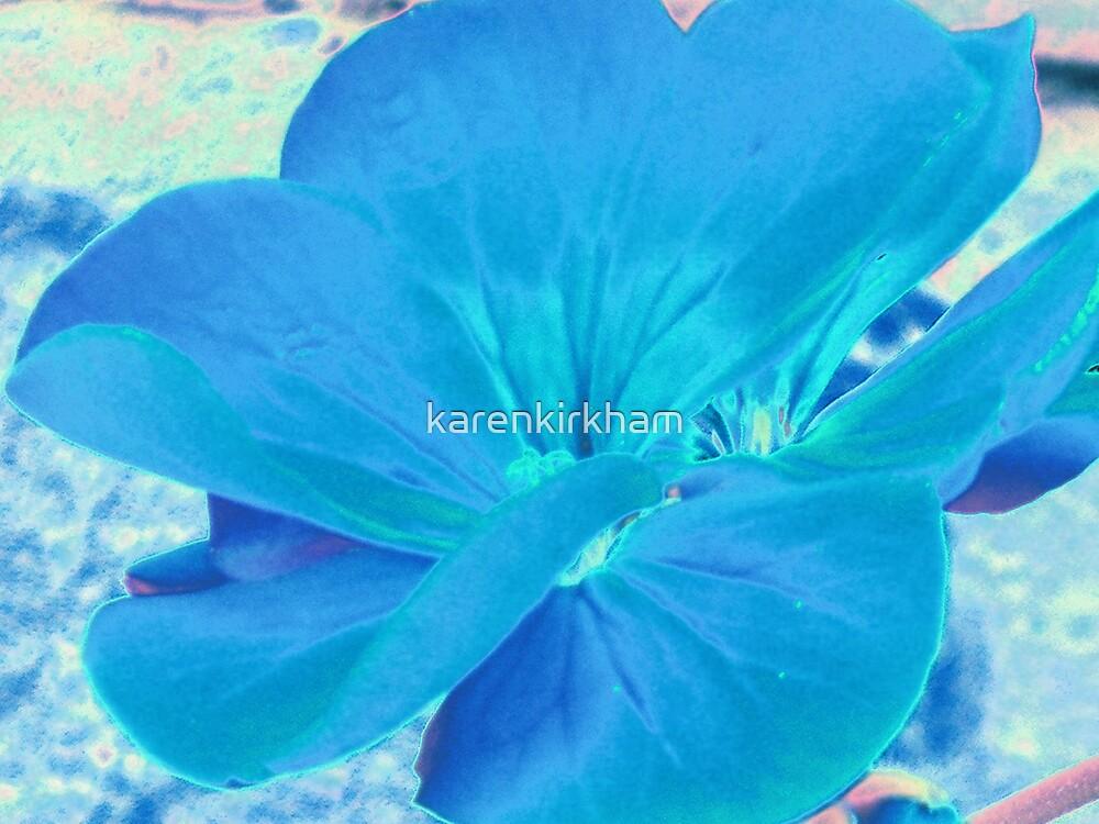 True Blue by karenkirkham
