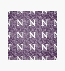 Northwestern University Pattern Scarf