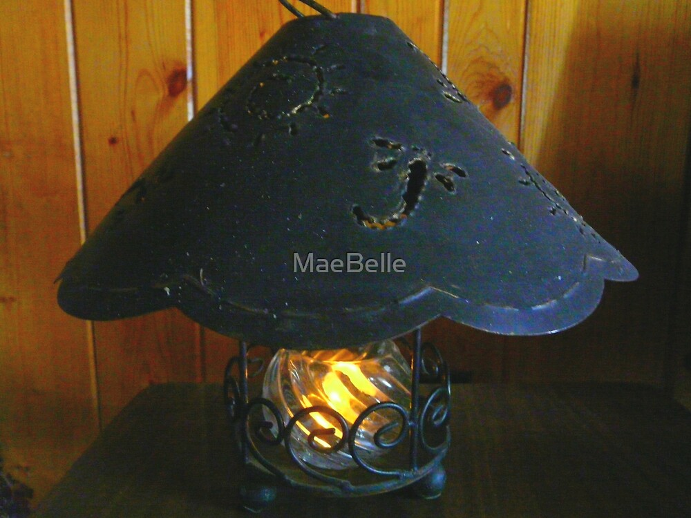 Candle Lamp by MaeBelle