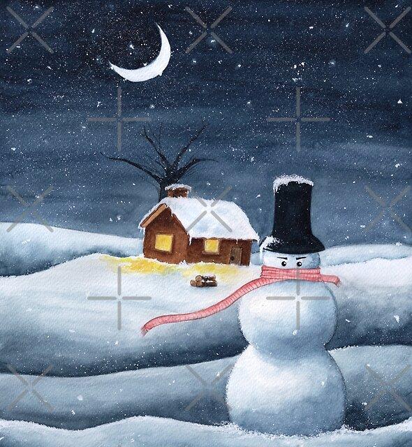 snowman by J sora