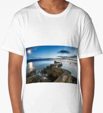 Rising Moon, Fading Day Long T-Shirt