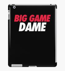 BIG GAME DAME  iPad Case/Skin