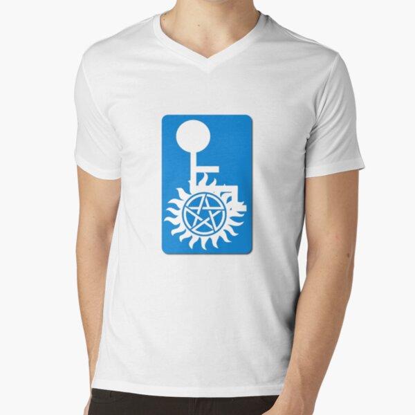 Variation on Supernatural Abilities V-Neck T-Shirt
