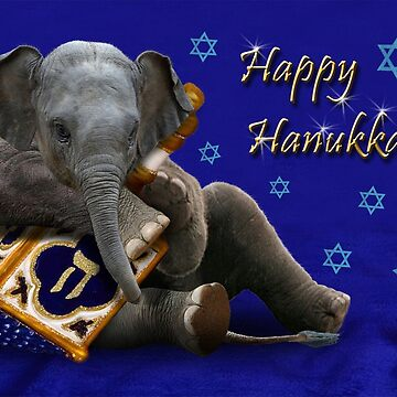 Hanukkah Elephant by jkartlife