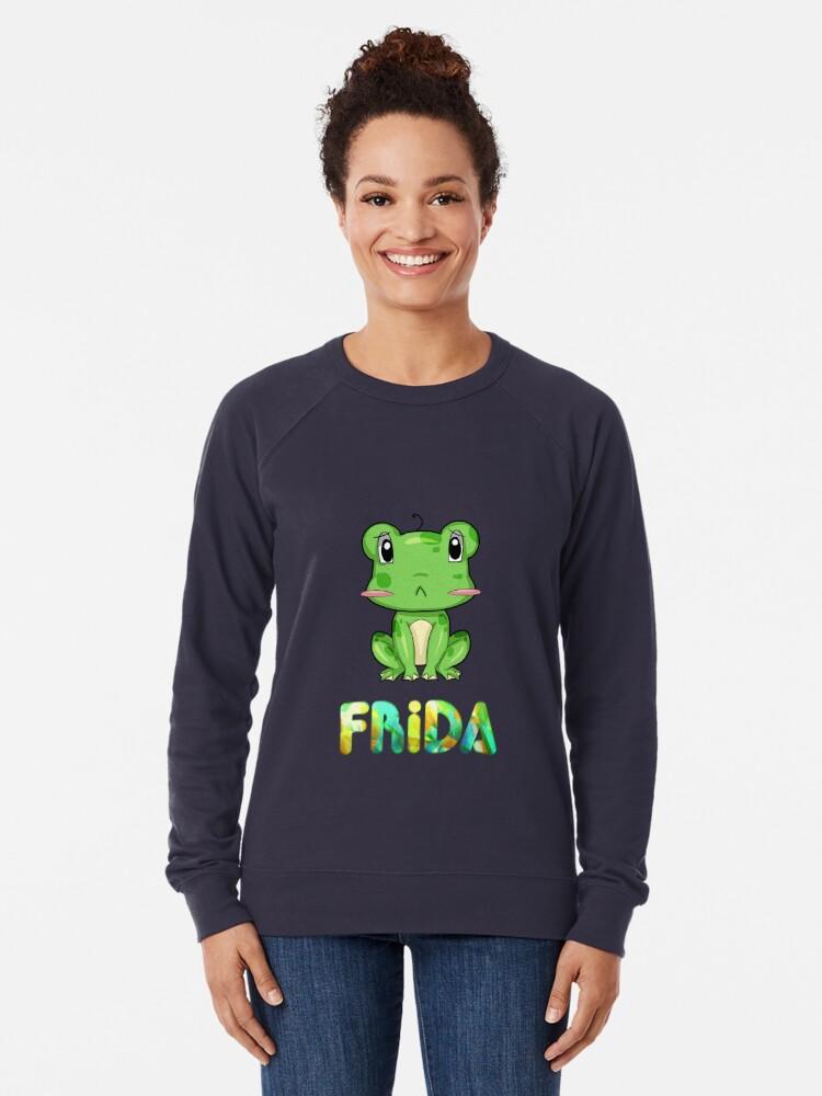 Alternative Ansicht von Frosch Frida Leichter Pullover