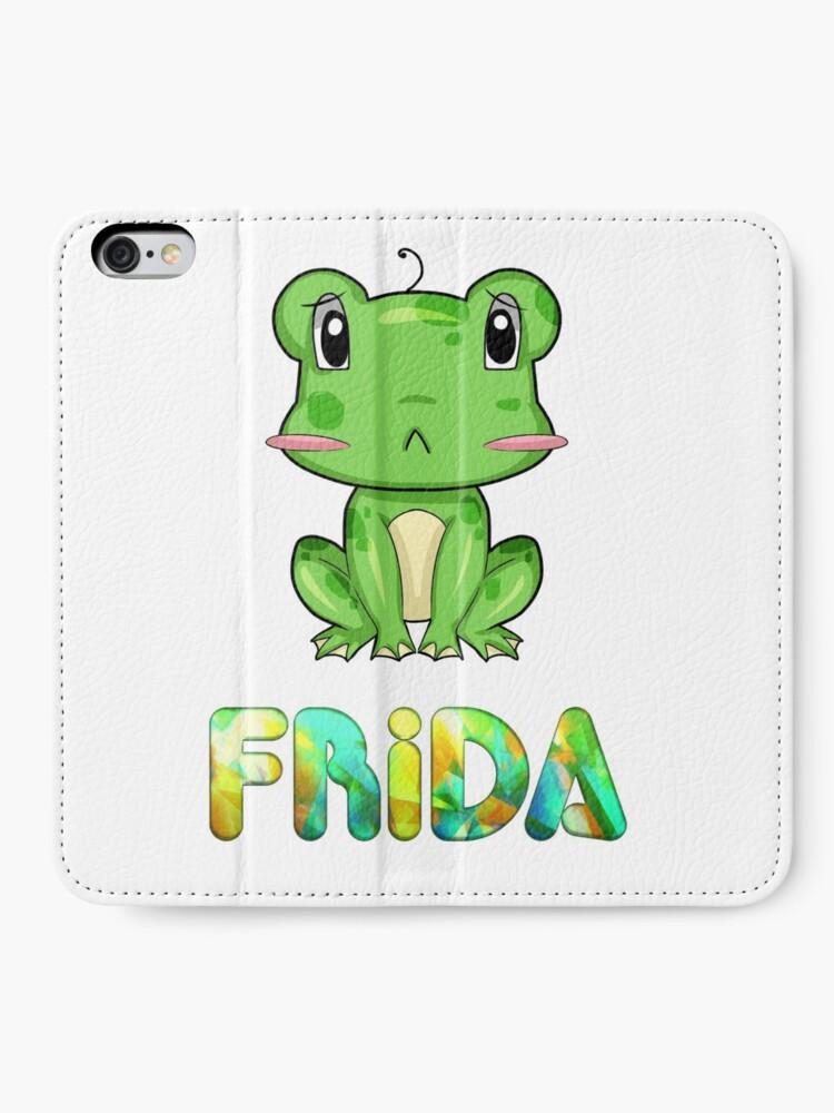 Alternative Ansicht von Frosch Frida iPhone Flip-Case
