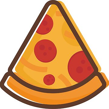 Pizza vector icon design for your business by dynecreative