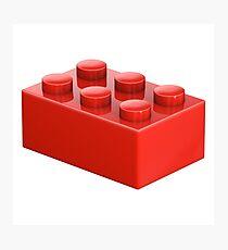 Toy Brick Photographic Print