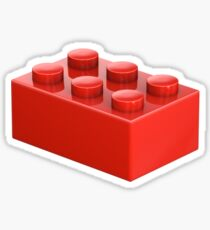 Toy Brick Sticker