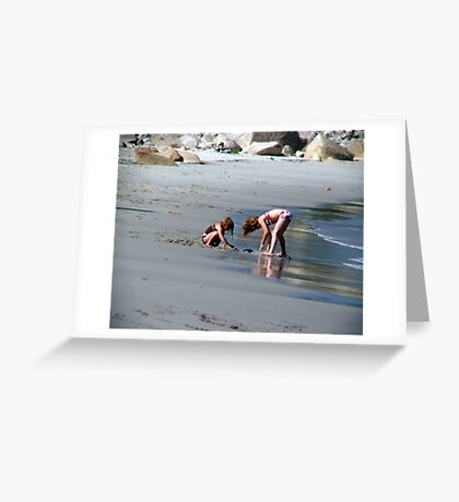 Two in the Sand Greeting Card