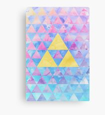 Geometric Zelda Canvas Print
