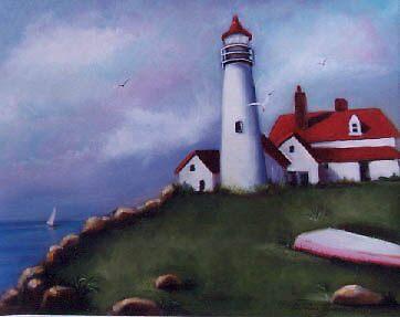Lighthouse Bay by Cathy Amendola