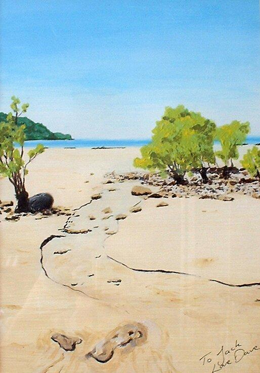 beach in oz by dave reynolds