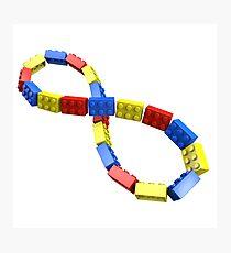 Toy Brick Infinity Photographic Print
