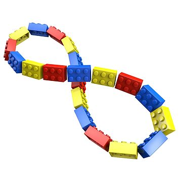 Toy Brick Infinity by chwatson