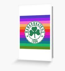 Panathinaikos F.C. Greeting Card