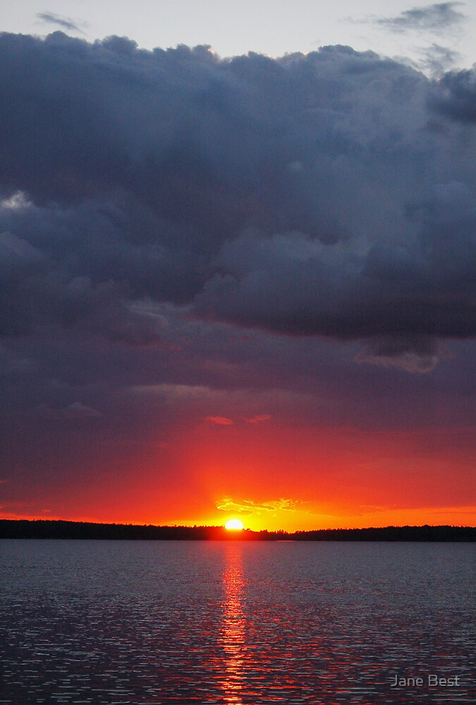Ontario Sunset by Jane Best