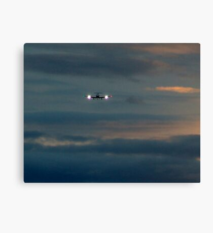 Rainy Night Flight Canvas Print
