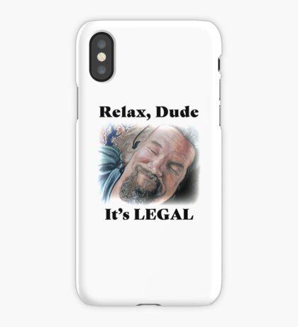 It's Legal iPhone Case