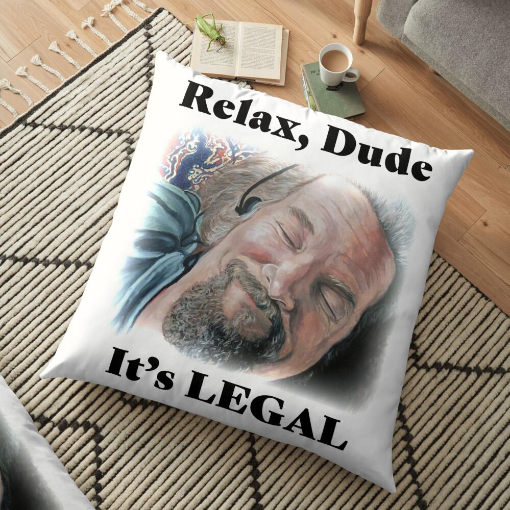 It's Legal Floor Pillow
