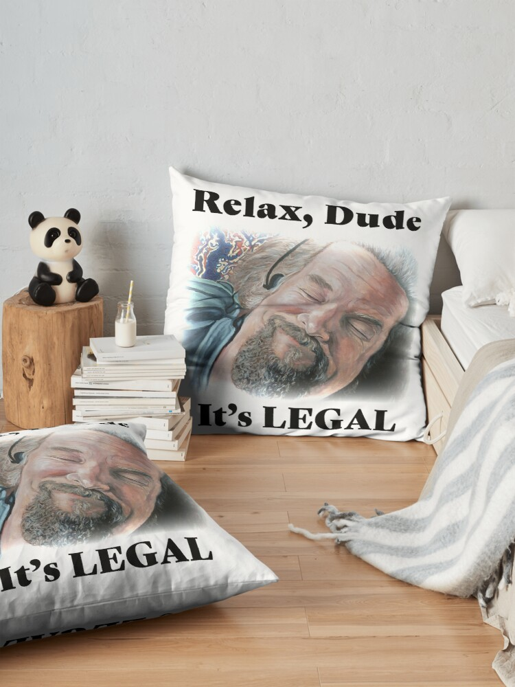 Alternate view of It's Legal Floor Pillow