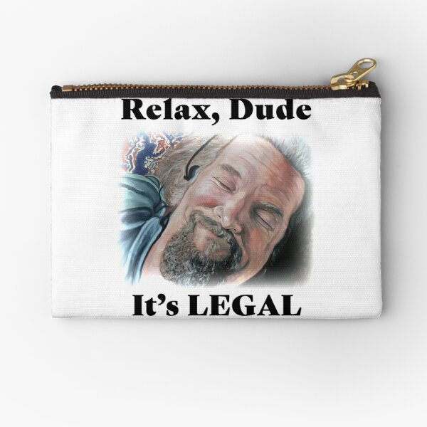 It's Legal Zipper Pouch