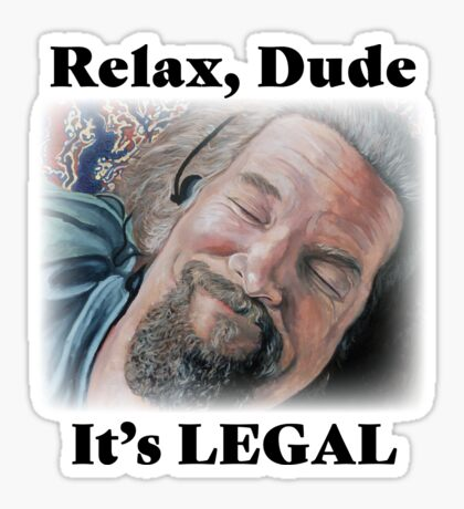It's Legal Sticker
