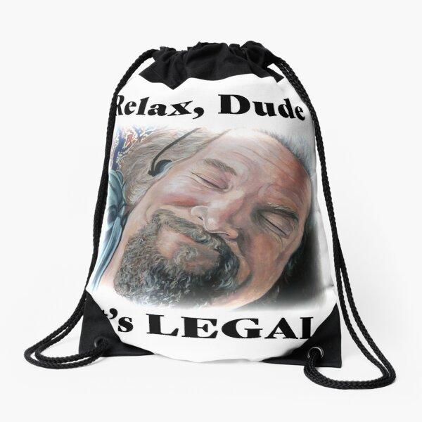 It's Legal Drawstring Bag