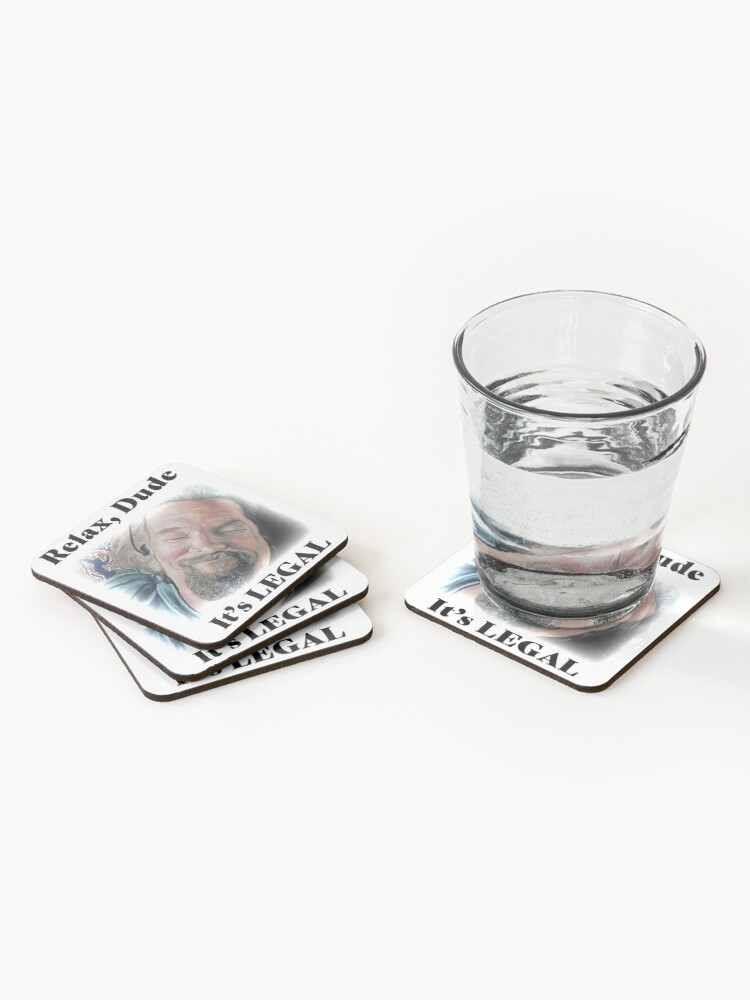 Alternate view of It's Legal Coasters (Set of 4)