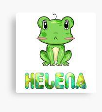 Frosch Helena Canvas Print