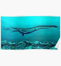 Mosasaurs Poster