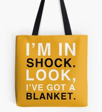 Shock Blanket Tote Bag