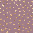 Rose Gold Heart by alyjones