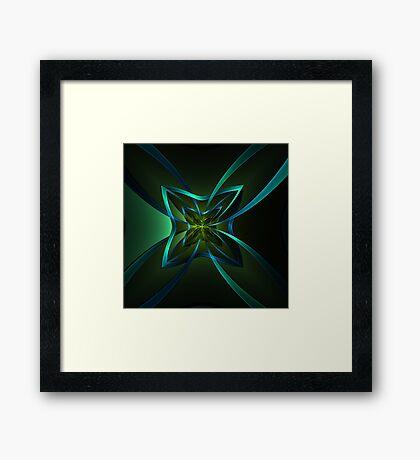 Ngon Star Portal Framed Print
