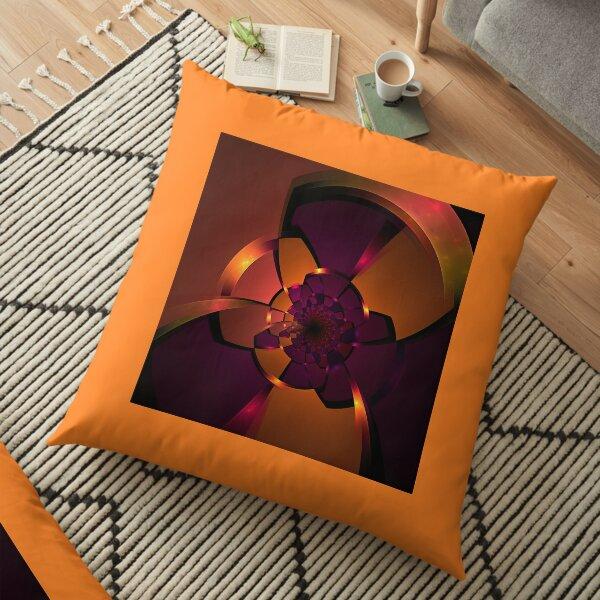 Purple Portal Floor Pillow