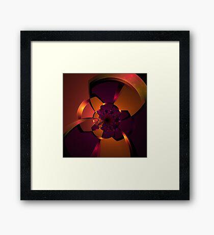 Purple Portal Framed Print