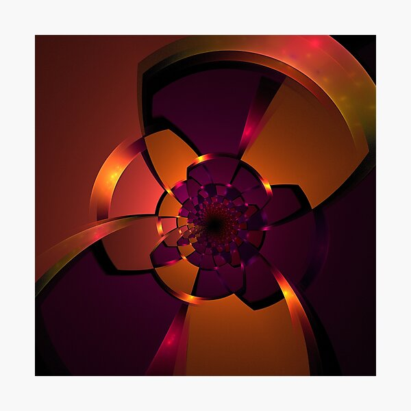 Purple Portal Photographic Print