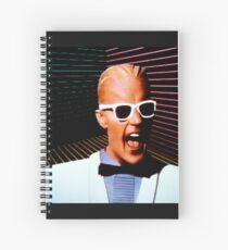 Max Headroom Spiral Notebook